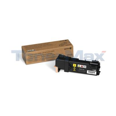XEROX PHASER 6500 TONER CARTRIDGE YELLOW HY